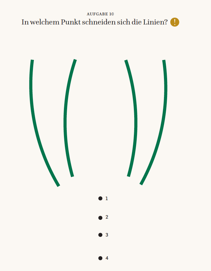 Zirkeltraining für die Augen | Werkstoff